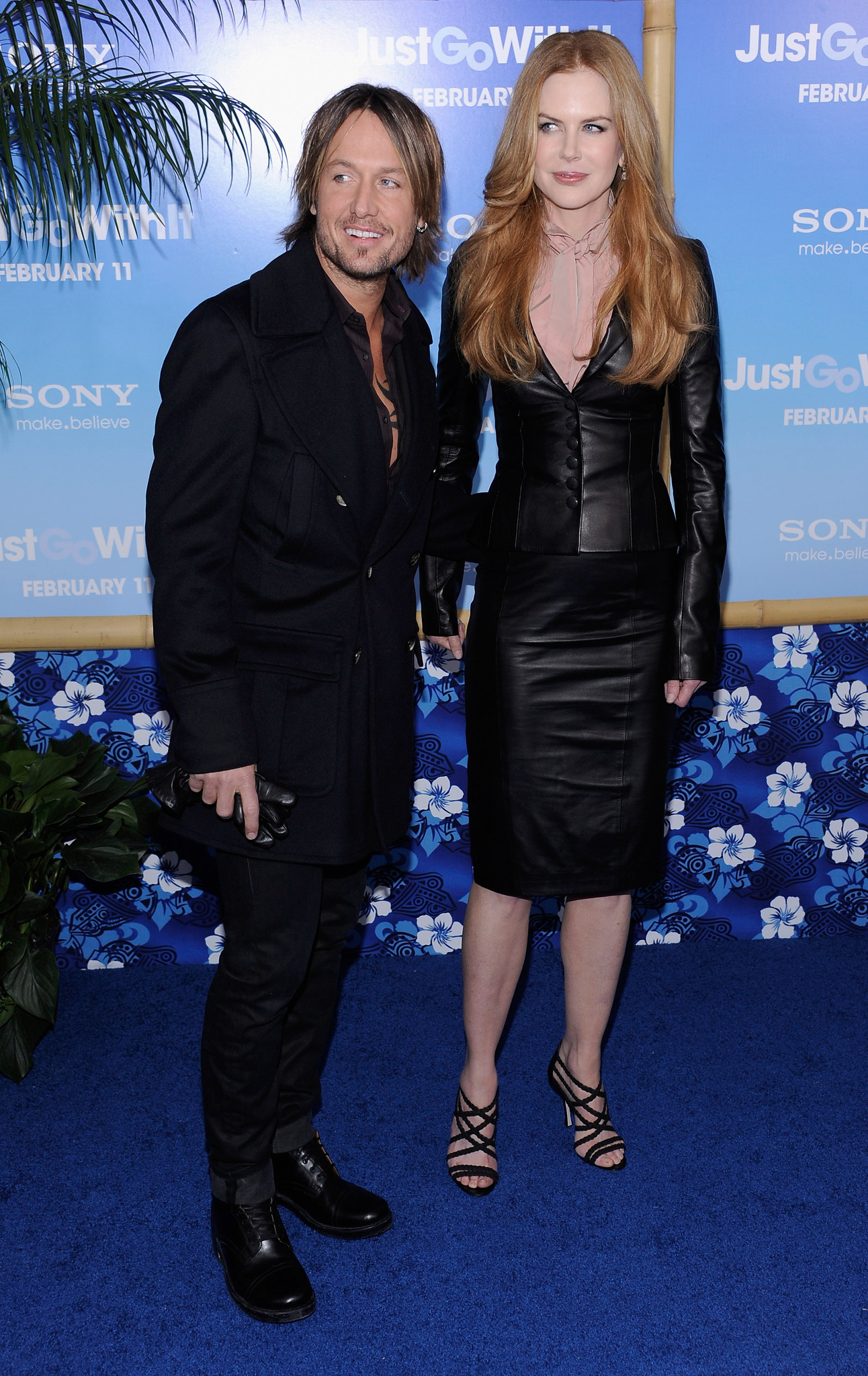 Nicole Kidman and Keith Urban at an event for Just Go with It (2011)