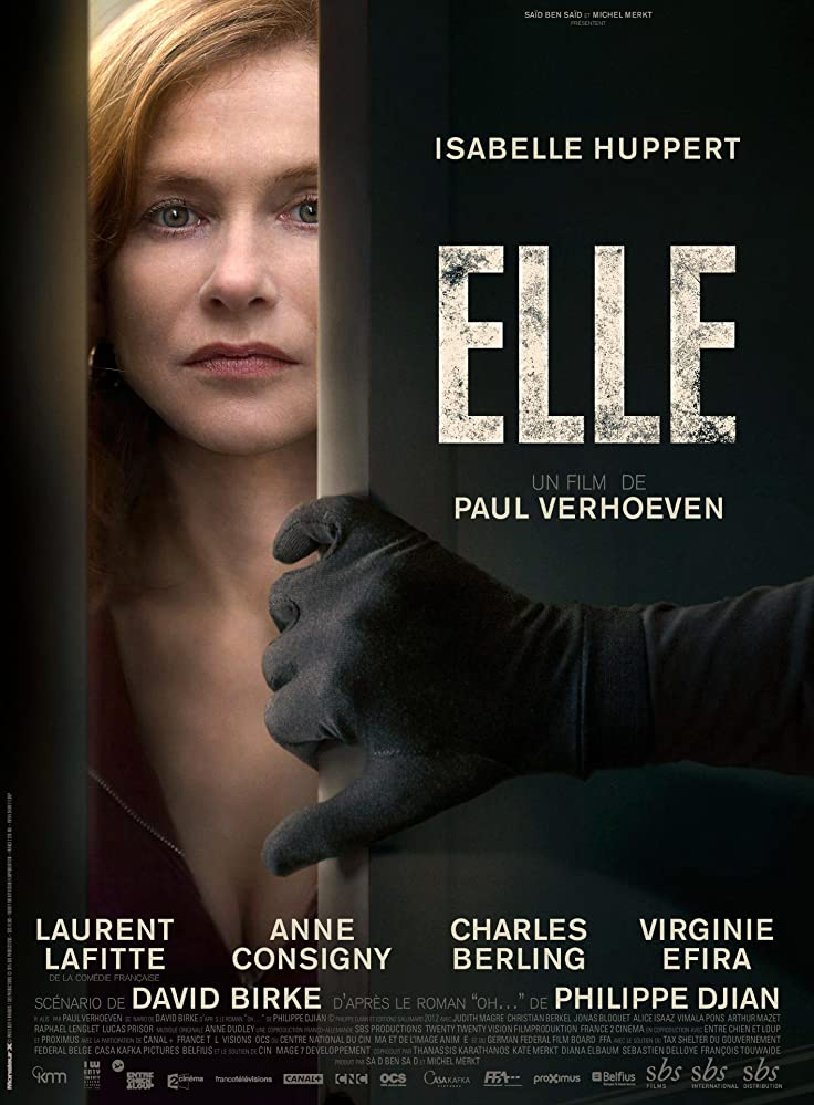 Isabelle Huppert in Elle (2016)