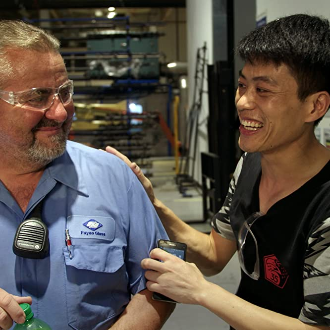 Rob Haerr and Wong He in American Factory (2019)