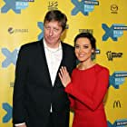 Hal Hartley and Aubrey Plaza at an event for Ned Rifle (2014)