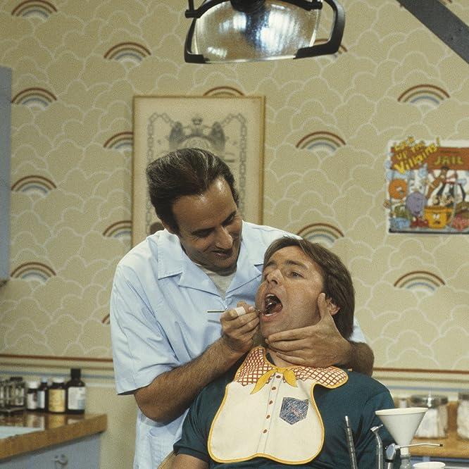 John Ritter and Jeffrey Tambor in Three's Company (1976)
