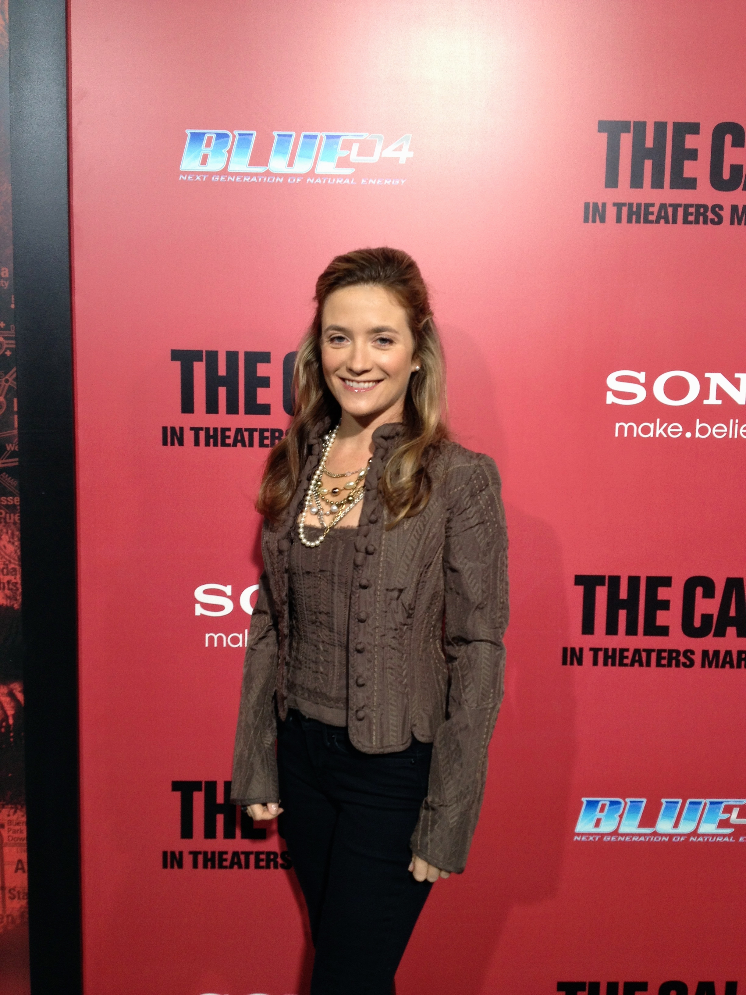 "Jenna Lamia at the premiere of ""The Call."""