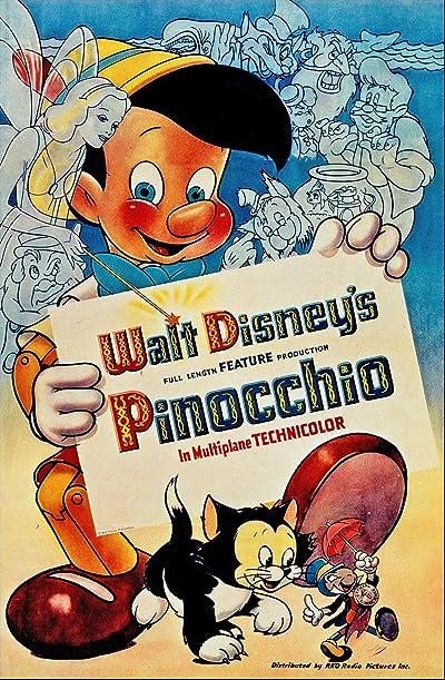 Pinocchio (1940) BluRay 480p, 720p & 1080p
