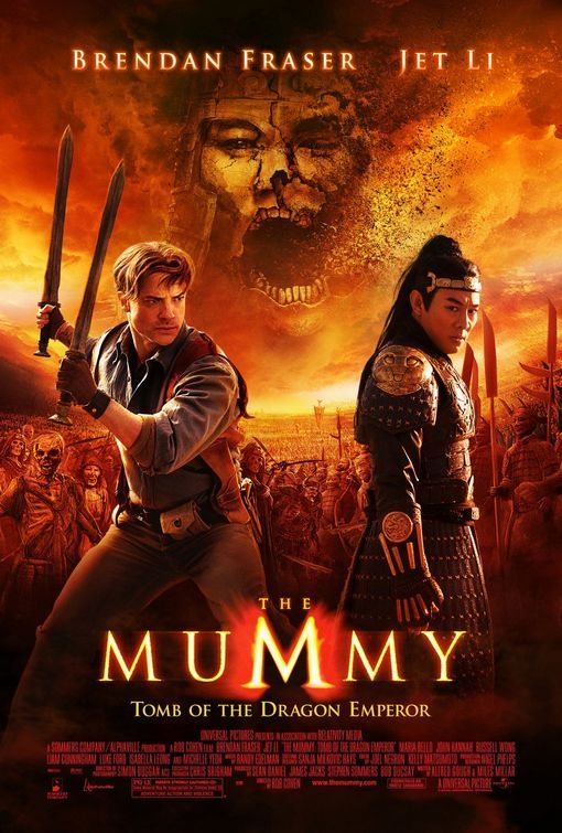 The Mummy Tomb of the Dragon Emperor (2008) BluRay [1080p-720p-480p] [Hin + Eng] DD5.1 AAC ESUB