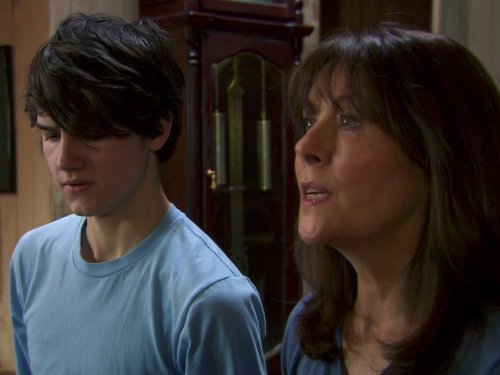 Elisabeth Sladen and Tommy Knight in The Sarah Jane Adventures (2007)