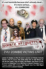 ZVU Zombie Victims Unit Poster