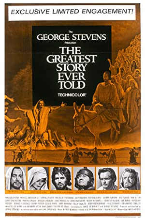 Where to stream The Greatest Story Ever Told