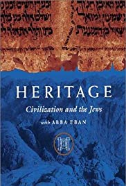 Heritage: Civilization and the Jews Poster