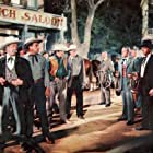 Burt Lancaster, Ted de Corsia, John Ireland, Nelson Leigh, and Richard Reeves in Gunfight at the O.K. Corral (1957)