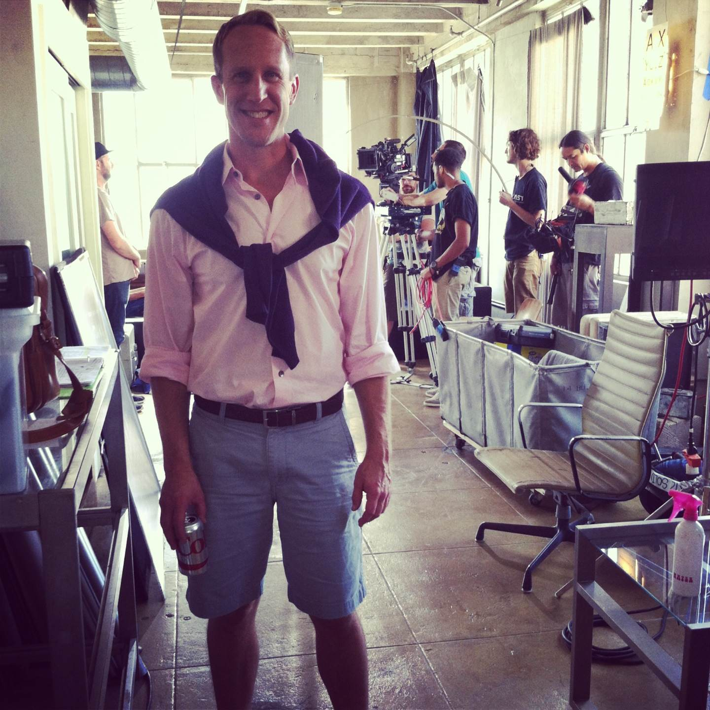 """On the set of """"Bleach"""""""