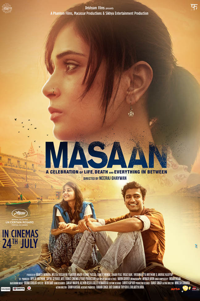 Masaan (2015) Hindi Blu-Ray - 480P | 720P - x264 - 250MB | 850MB - Download & Watch Online  Movie Poster - mlsbd