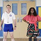 Bryan Callen and Haneefah Wood in Principal for a Day (2020)