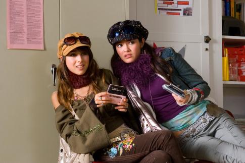 Daniella Monet and Kelly Vitz in Nancy Drew (2007)