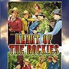 Ray Corrigan, Robert Livingston, Sammy McKim, Lynne Roberts, Max Terhune, Hal Taliaferro, Ranny Weeks, and Maston Williams in Heart of the Rockies (1937)