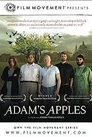 Nicolas Bro, Ali Kazim, Mads Mikkelsen, Paprika Steen, and Ulrich Thomsen in Adams æbler (2005)
