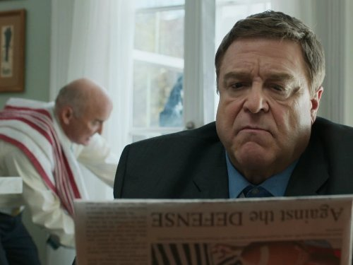 John Goodman and Matt Malloy in Pilot (2013)