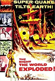 The Night the World Exploded Poster