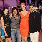 Adrianne Palicki, Kunal Nayyar, Vinay Virmani, and Isabelle Kaif in Dr. Cabbie (2014)
