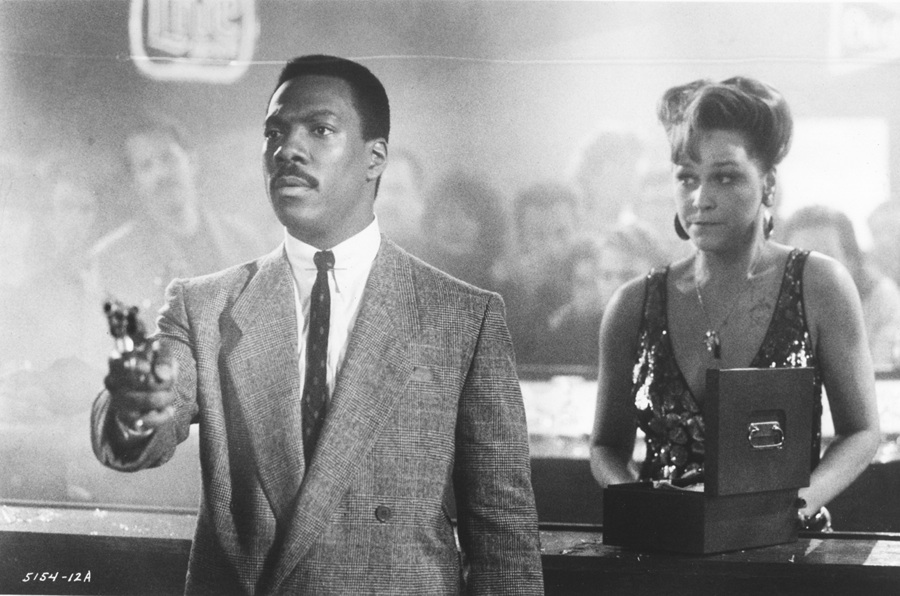 Still from another Another 48 Hrs. with Cathy Haase and Eddie Murphy.