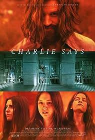 Matt Smith, Sosie Bacon, Hannah Murray, and Marianne Rendón in Charlie Says (2018)
