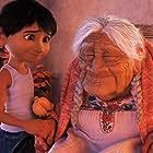 Ana Ofelia Murguía and Anthony Gonzalez in Coco (2017)