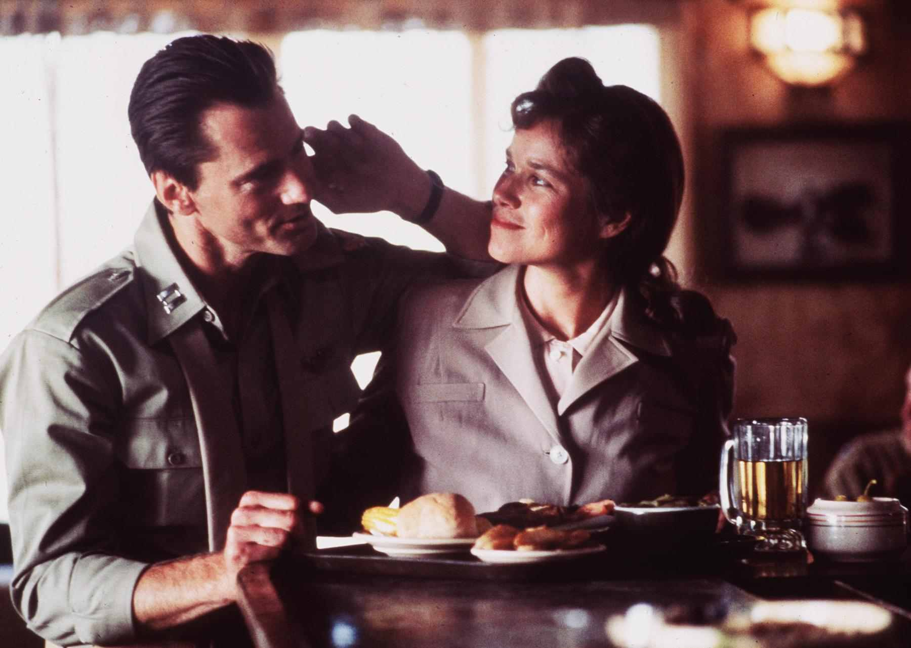 Barbara Hershey and Sam Shepard in The Right Stuff (1983)