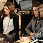 Julianna Margulies and Jessica Hecht in The Good Wife (2009)