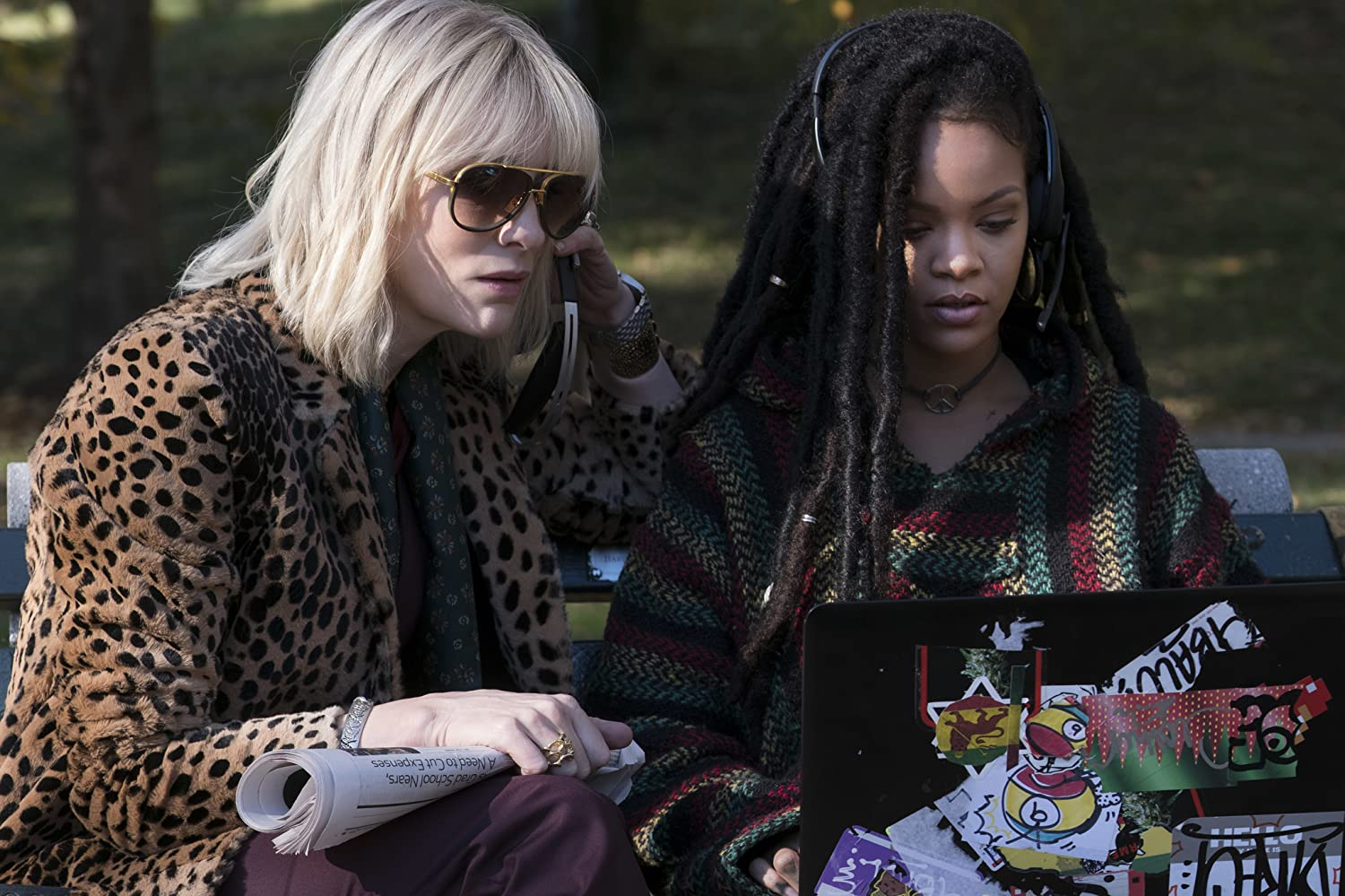 Cate Blanchett and Rihanna in Ocean's 8 (2018)