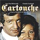 Jean-Paul Belmondo and Claudia Cardinale in Cartouche (1962)