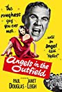 Janet Leigh and Paul Douglas in Angels in the Outfield (1951)