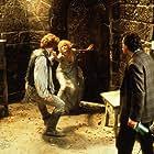 Steve Guttenberg, Daryl Hannah, and Liam Neeson in High Spirits (1988)