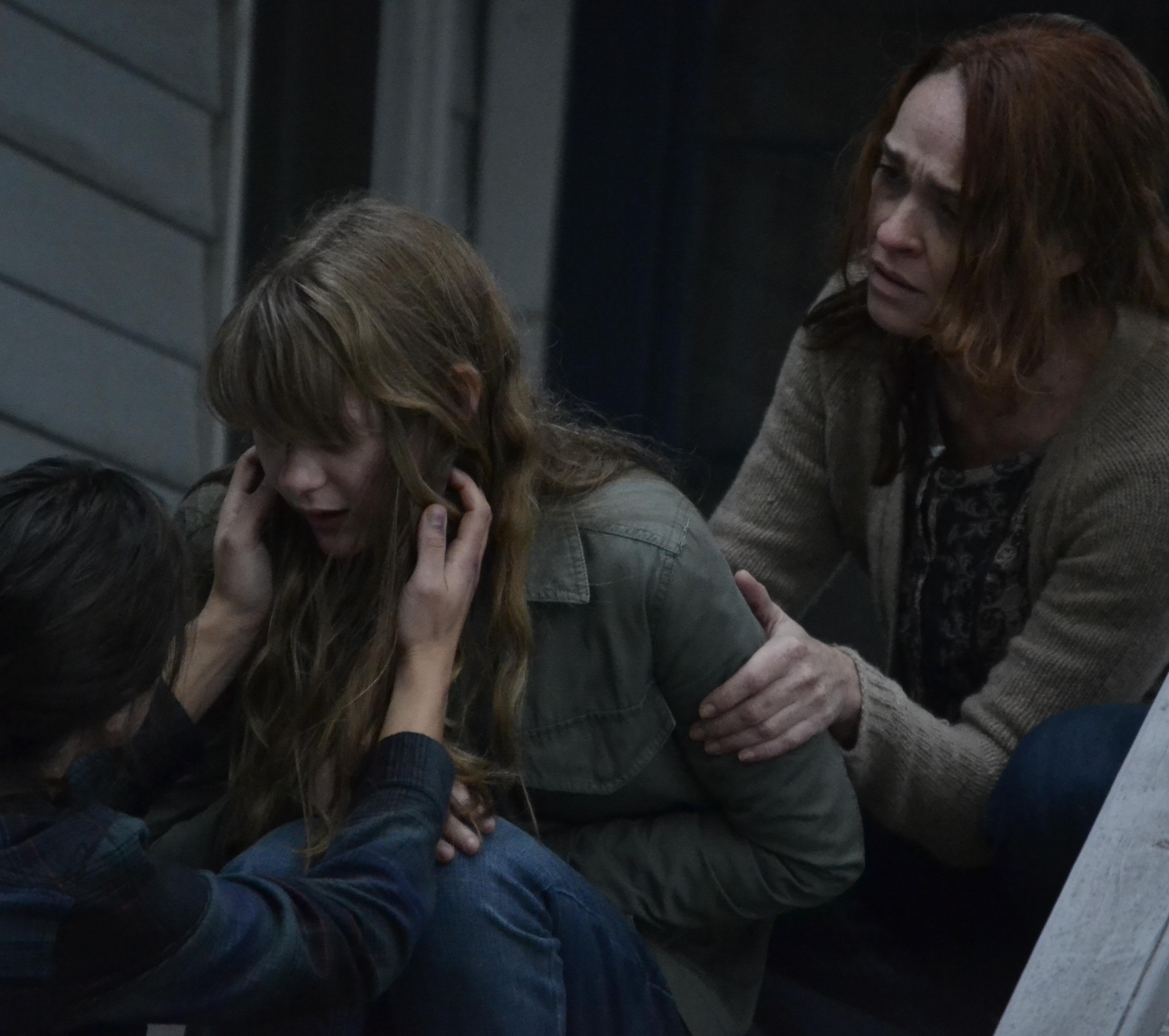 Karina Logue and Ryan Simpkins in Anguish (2015)