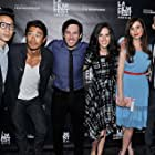 With Chris Dinh, Tim Chiou, Chris Riedell, Katie Savoy, and Walt Bost at the premiere of Crush the Skull at the Los Angeles FIlm Festival