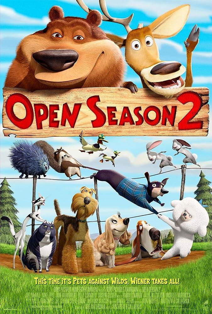 Open Season 2 (2008) Hindi Dubbed
