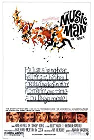 Buddy Hackett, Paul Ford, Hermione Gingold, Shirley Jones, Pert Kelton, and Robert Preston in The Music Man (1962)