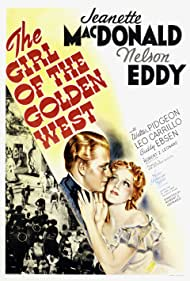 Nelson Eddy and Jeanette MacDonald in The Girl of the Golden West (1938)