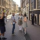 Ben Sombogaart, Aiko Beemsterboer, and Josephine Arendsen in My Best Friend Anne Frank (2021)