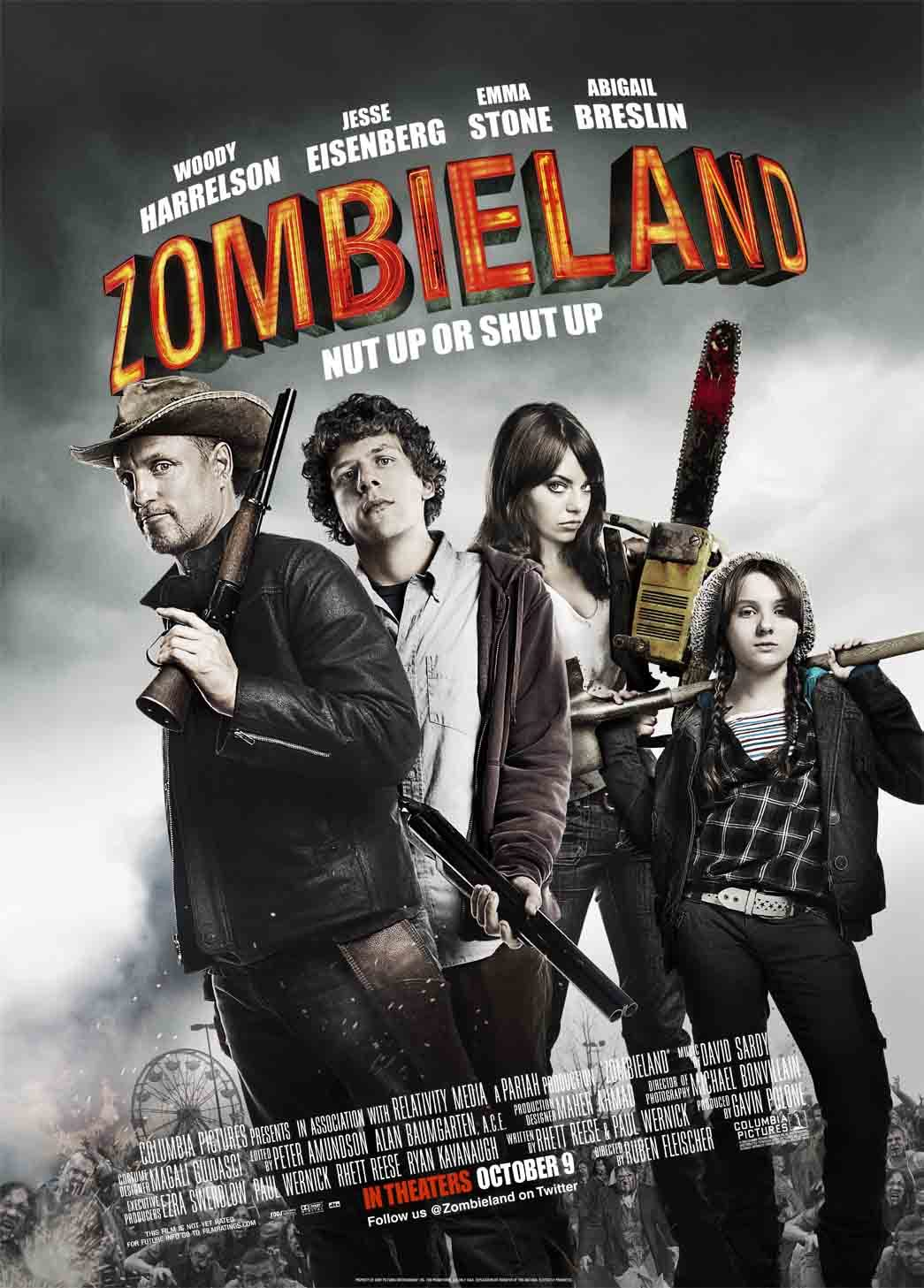 An image of the Zombieland Movie Cover