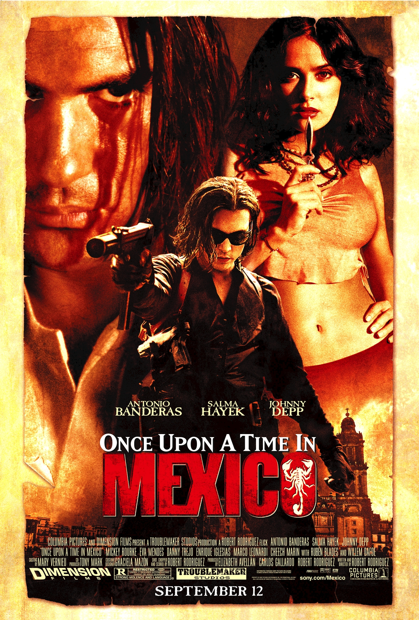 Once Upon A Time In Mexico 2003 Imdb