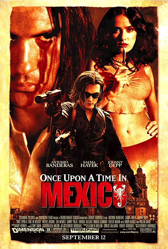 Once Upon a Time in Mexico (2003) in Hindi