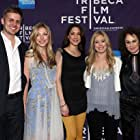Jasmine McGlade and the cast of her film MARIA MY LOVE at it's Tribeca Film Festival premiere.