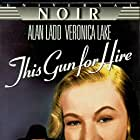 Alan Ladd and Veronica Lake in This Gun for Hire (1942)