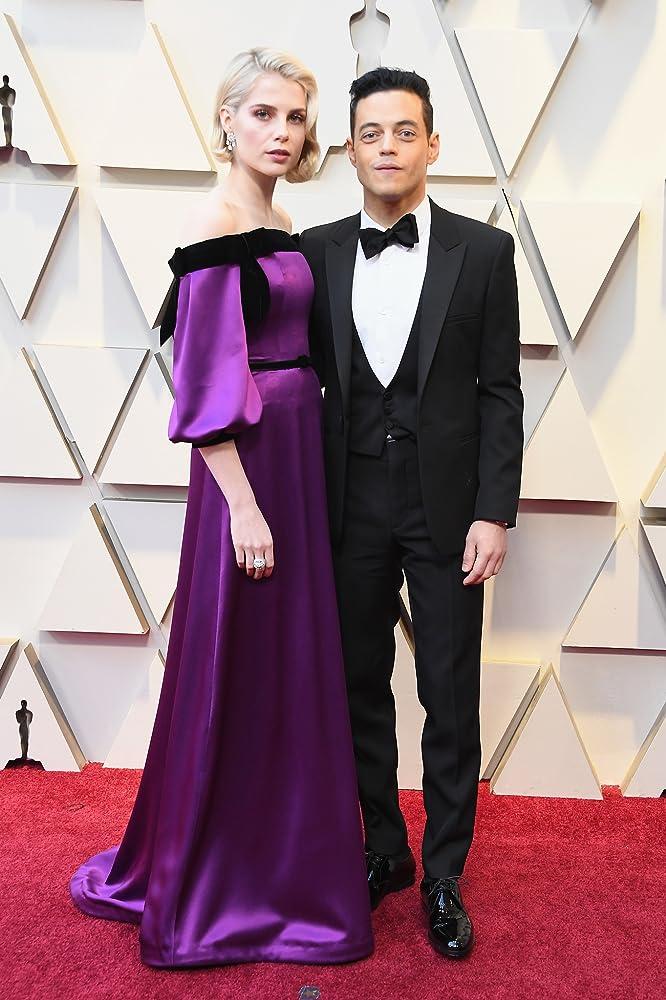 Rami Malek and Lucy Boynton at an event for The Oscars (2019)