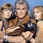 Ricardo Montalban, Laura Banks, and Nanci Rogers in Star Trek II: The Wrath of Khan (1982)