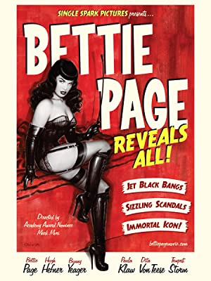 Where to stream Bettie Page Reveals All