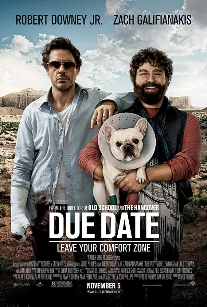 Due Date (2010) Hindi Dubbed