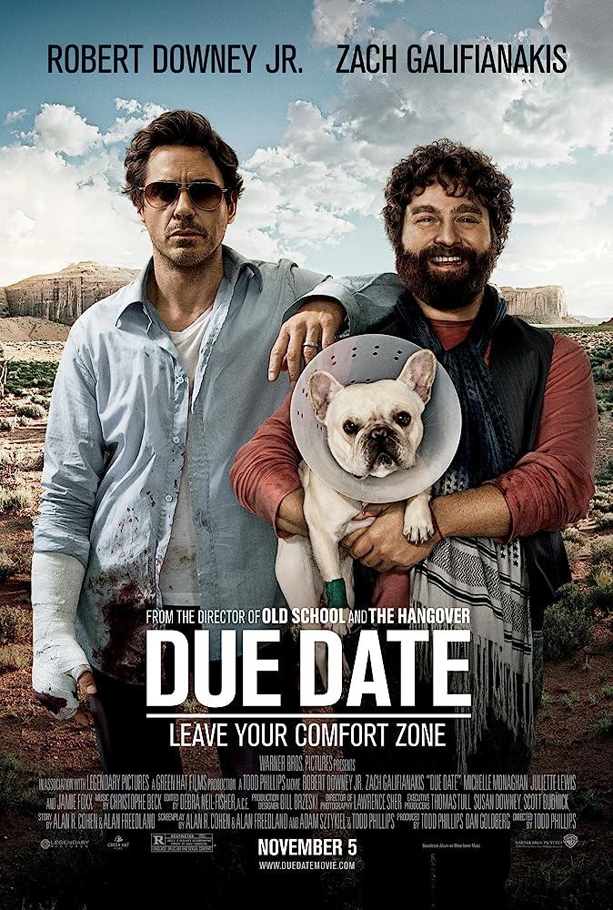 ดูหนังออนไลน์ฟรี Due Date คู่แปลก ทริปป่วน ร่วมไปให้ทันคลอด