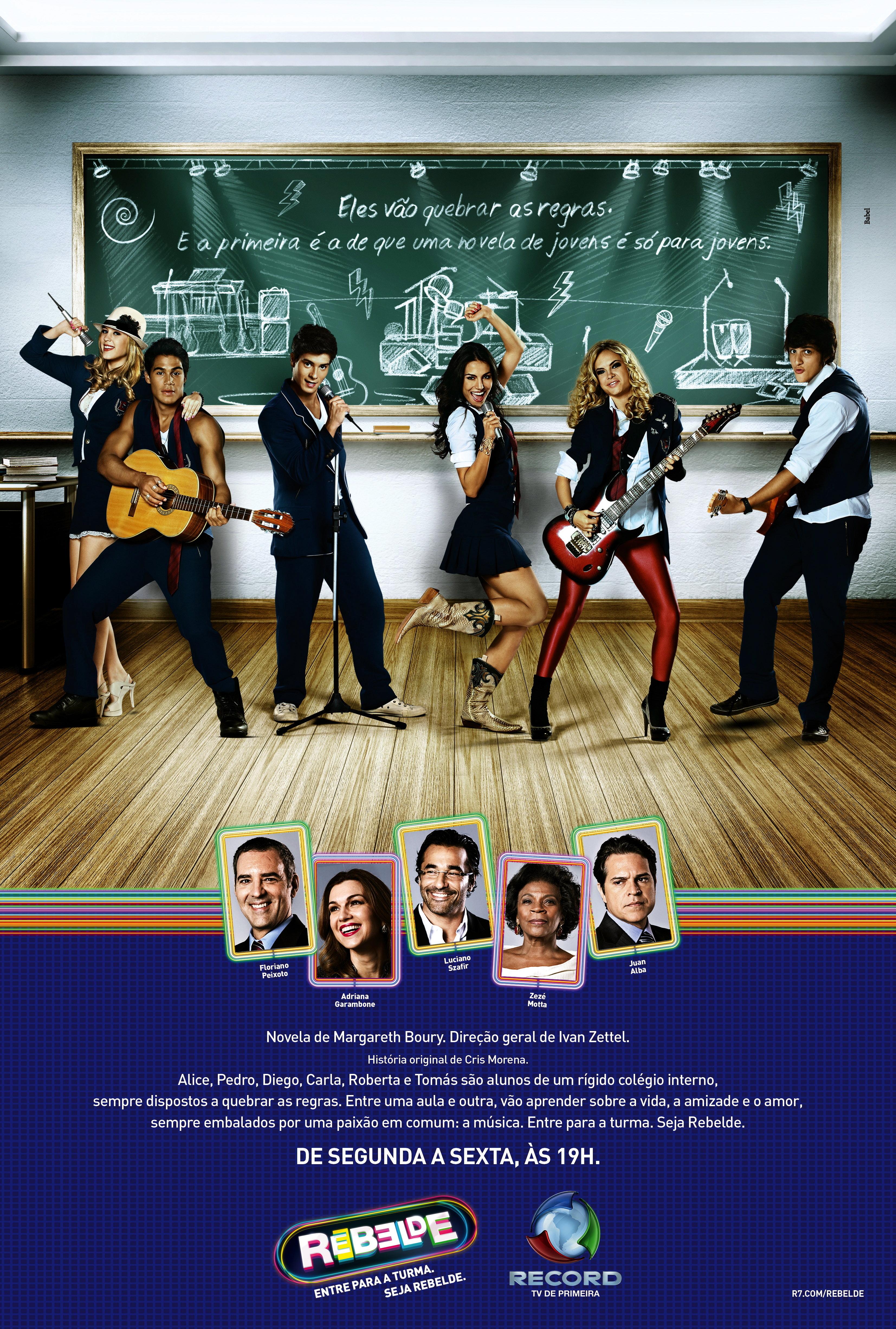Rebelde (TV Series 2011–2012) - IMDb