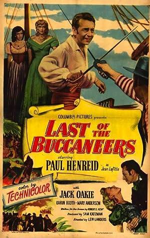 Lew Landers Last of the Buccaneers Movie