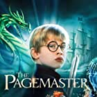 Macaulay Culkin, Patrick Stewart, and Frank Welker in The Pagemaster (1994)